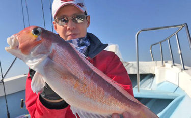 【愛知県】沖釣り最新釣果 SLJでビッグアマダイにワラサ&ブリ回遊中