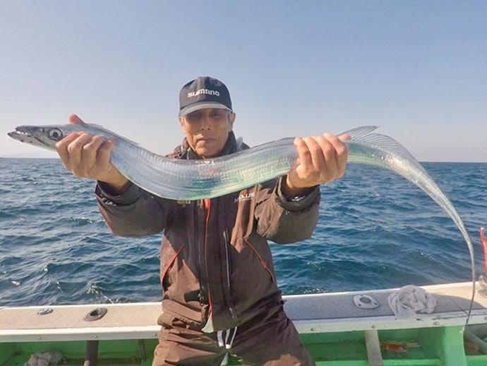 【熊本・大分】沖釣り最新釣果 ドラゴン級タチウオにタイラバ好調