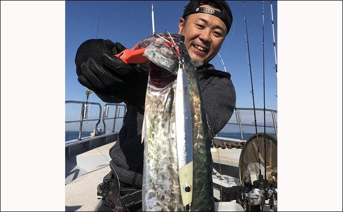 【三重】沖釣り最新釣果 超高級魚クエにアカハタ21匹など根魚好調