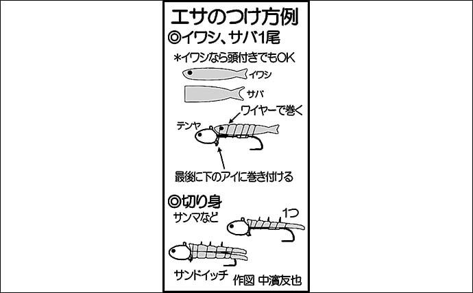 指10本『超ドラゴン級』タチウオ降臨 大型狙いのキモは食わす「間」