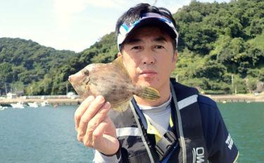 陸っぱりカワハギ釣り堪能 2時間で本命2ケタ釣果【熊本県・天草】