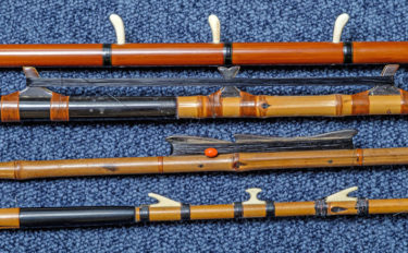 道具を通して伝統的な釣りを知る:江戸前ハゼ釣り 中通し竿が主流