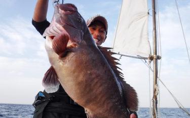 【大分県】沖釣り最新釣果 スロージギングで7.8kgマハタ登場!