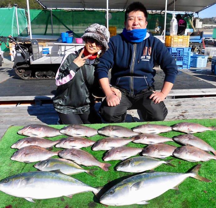 【三重県】海上釣堀の最新釣果情報 マダイ47匹に天然イシガキダイ