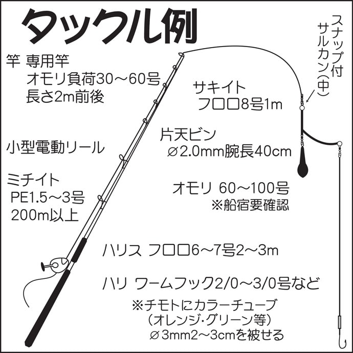 東京湾『冬タチウオ』船キホン解説 ドラゴン級の大型が狙える好機