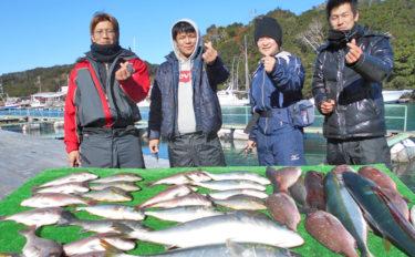 【三重県】海上釣り堀最新釣果 お正月の祝い膳にマダイはいかが?