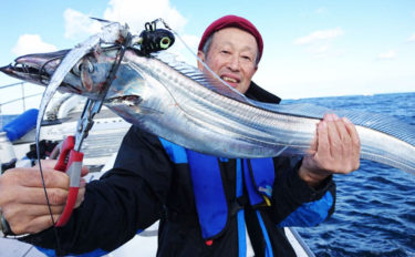 【大分・長崎】沖釣り最新釣果 エサ取り減ってドラゴン級タチウオ狙い目