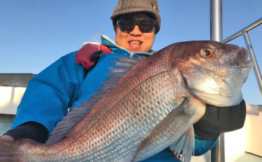 【愛知県】沖釣り最新情報 泳がせ&ジギングで良型マダイや大型青物