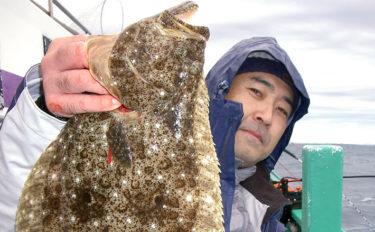 全域解禁後の茨城ヒラメが絶好調 3.8kg頭にトップ8尾【長岡丸】