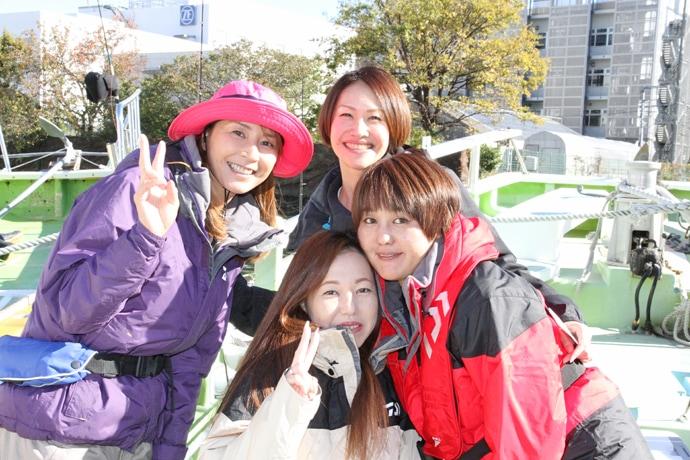 児島玲子が初の『船上プチ同窓会』開催 〜みんなの『釣り夢』応援します〜