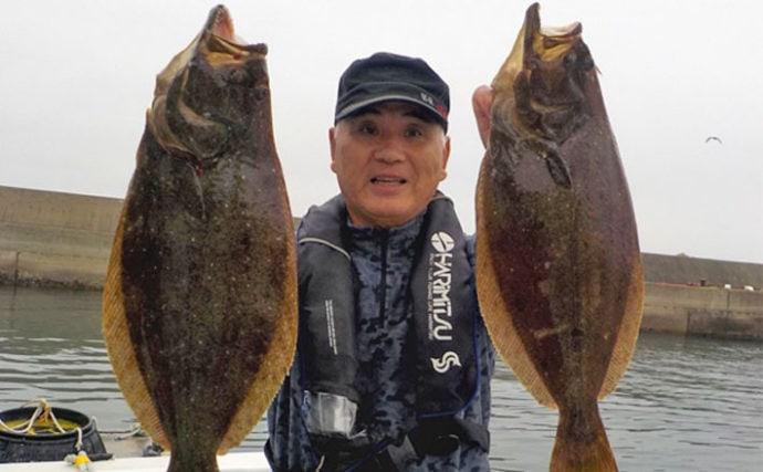 【中部】年末年始オススメ釣りもの:泳がせ釣りで狙う寒ビラメ