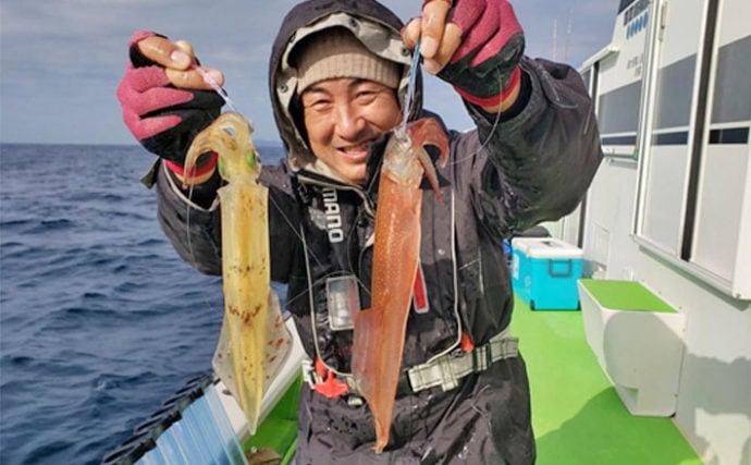 【関東】初釣りオススメ釣り物:シーズン到来の船ヤリイカ