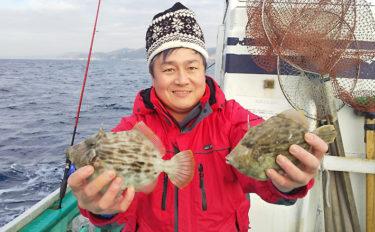 【関東】初釣りオススメターゲット:船カワハギ 目指せ『キモパン』