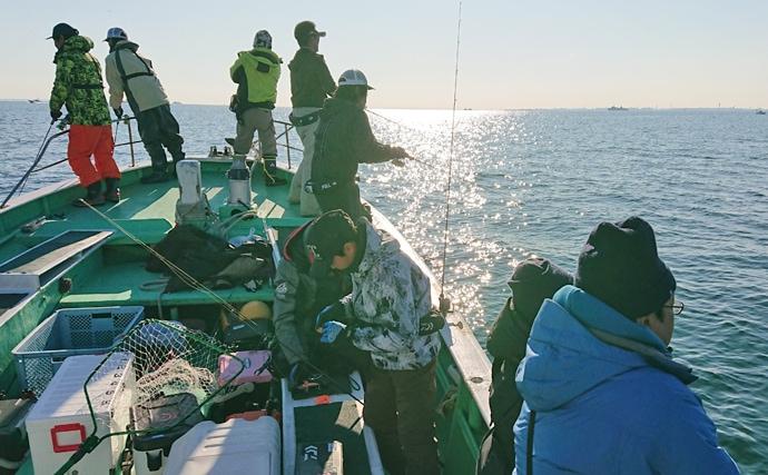 人気の東京湾『サワラゲーム』が最終戦 シーバスやイナダも【林遊船】