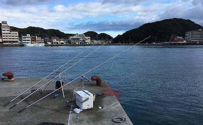 全日本サーフ大阪協会名人戦に参加 投げ釣りでマダイにスズキ【和歌山】