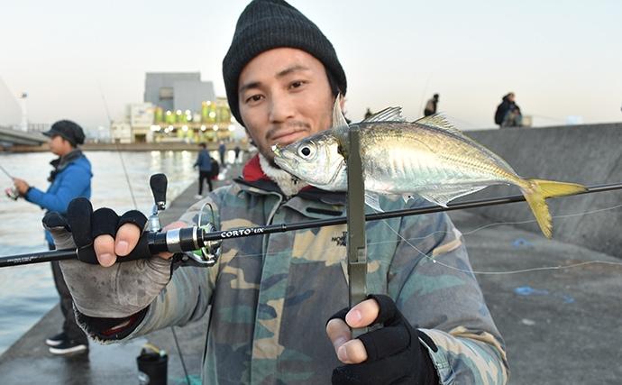 冬のアジングで27cm頭に数釣り 一瞬の時合いを逃さないロッドとは?