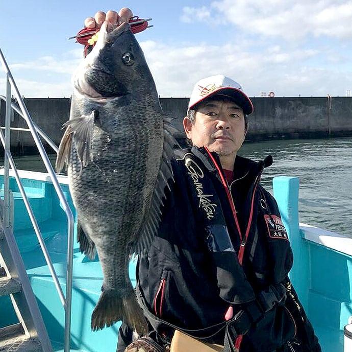 【大阪湾2020年2月】チヌ落とし込み状況 暖冬の影響はいかに?