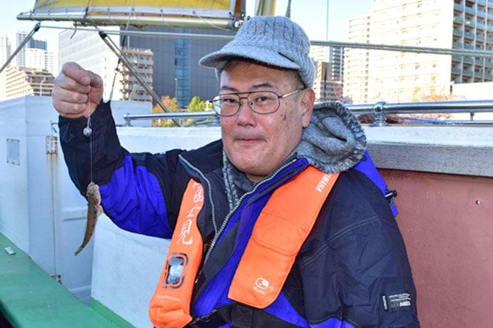 『ハゼ釣り乗合競技会』取材レポート 後半には入れ食いも【深川冨士見】