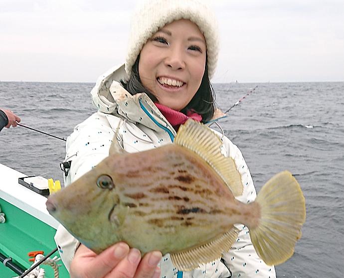 大会優勝経験者と乗るカワハギ船 本命全員安打達成【瀬戸丸】