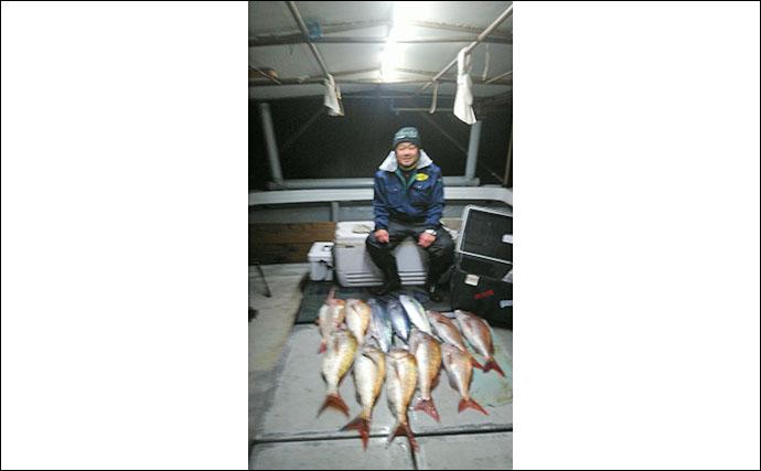 【福岡】沖ルアー釣り最新釣果 タイラバで4.5kgタカバにマダイ数釣りも