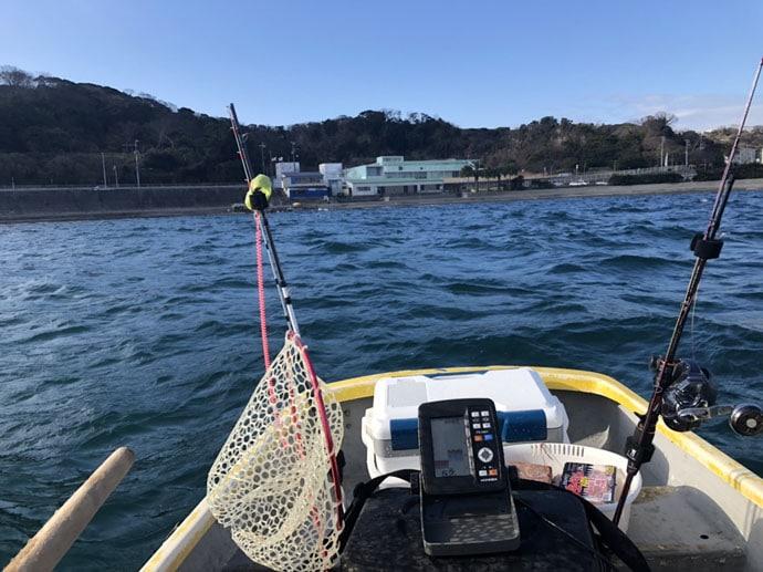手こぎボートで2020年釣り初め!1.4kg頭イシダイ2尾【なかねボート】