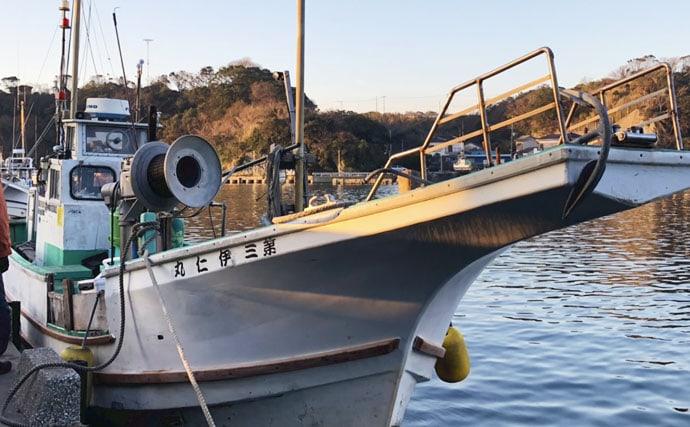 カカリ釣りで『磯の王者』イシダイに初挑戦 50cm頭船中13尾【伊仁丸】