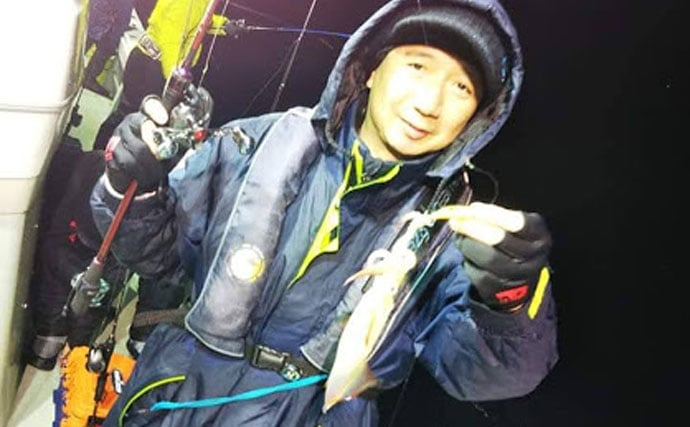 真冬のマイカメタル好機到来 ヤリイカ混じりのマイカ主体【福井県】