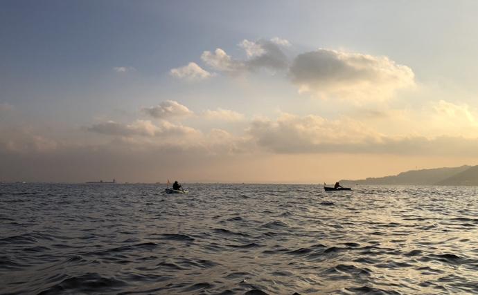 東京湾手こぎボートで泳がせ釣り ラストにまさかの良型ヒラメ【石田丸】