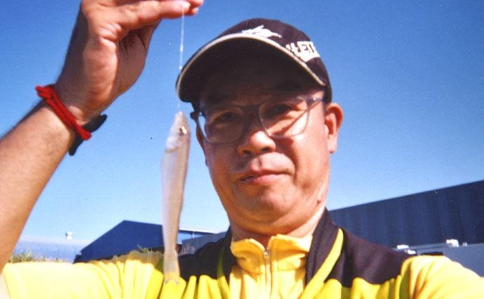真冬のラン&ガン投げキス釣りで6尾 意外な浅場で本命顔見せ【静岡】