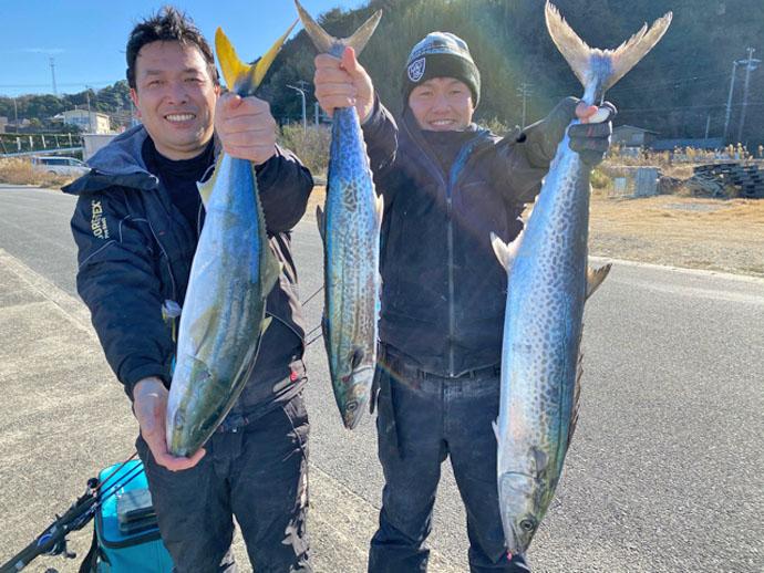 【愛知県】沖のルアーフィッシング最新釣果 ジギングでブリ&サワラ絶好調
