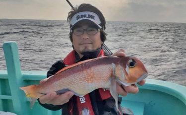 初のアマダイ釣行で40cm頭に本命6尾 良型トラフグも登場【神奈川】