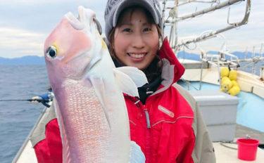 【福岡県】沖のエサ釣り最新釣果 50cm超アマダイに寒ブリなど