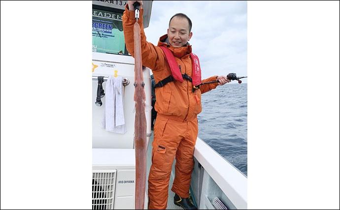 SLJで真冬の高級魚狙い撃ち 大型タカバやアカヤガラなど【Trip】