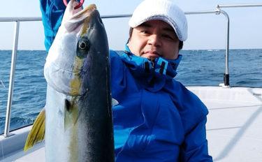 ヒラマサジギング&カワハギ釣りの異種混合釣行 両本命手中【山口県】