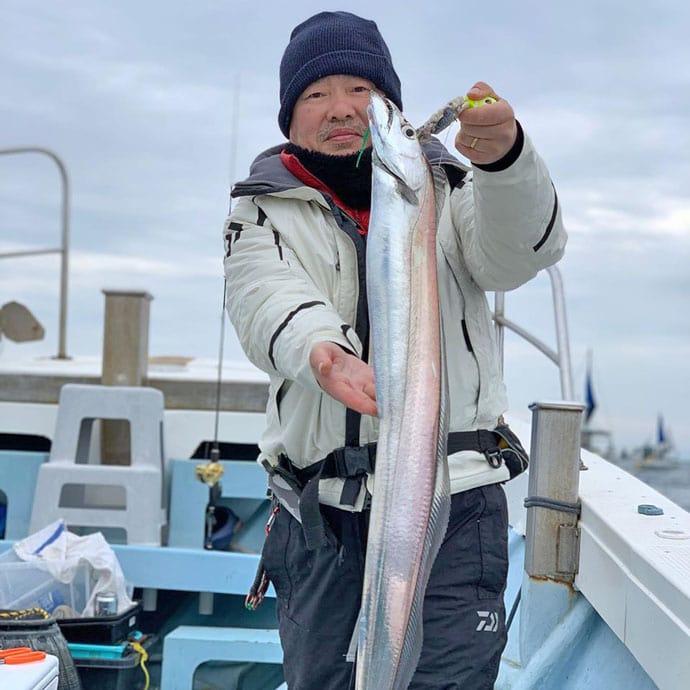 【大分&熊本】沖釣り最新釣果 テンヤタチウオ釣りでドラゴン浮上