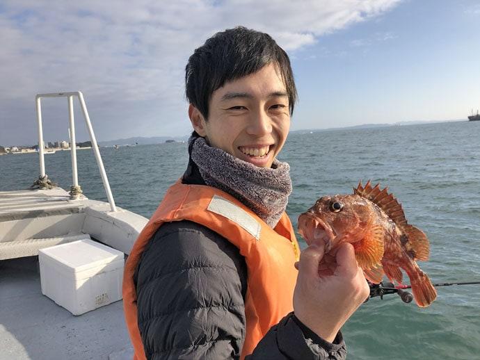 アラカブ実釣会参加レポート テンヤ仕掛けで良型ハマチも【福岡県】