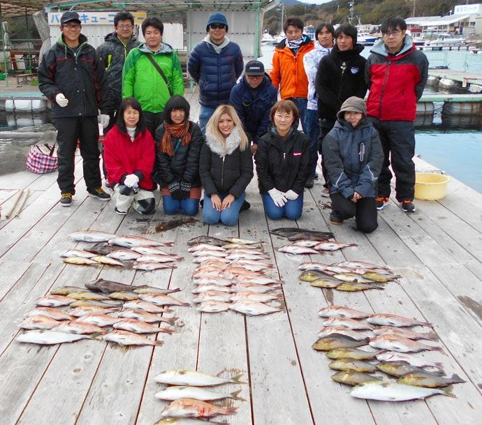 【三重県】海上釣り堀最新釣果 大型含みでマダイ46匹の大釣りも
