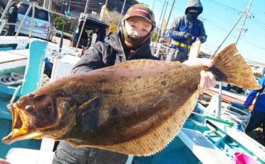 【愛知県】沖のエサ釣り最新釣果 肉厚80cm5.35kg大判ヒラメ登場