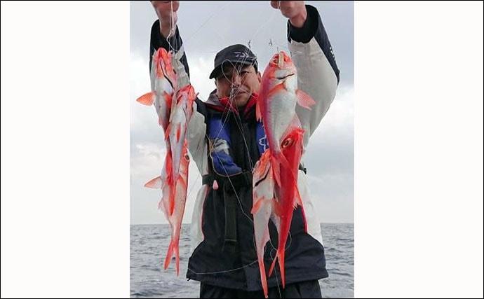 関東エリア『LT(ライトタックル)キンメ』が好調 道具や釣り方を解説