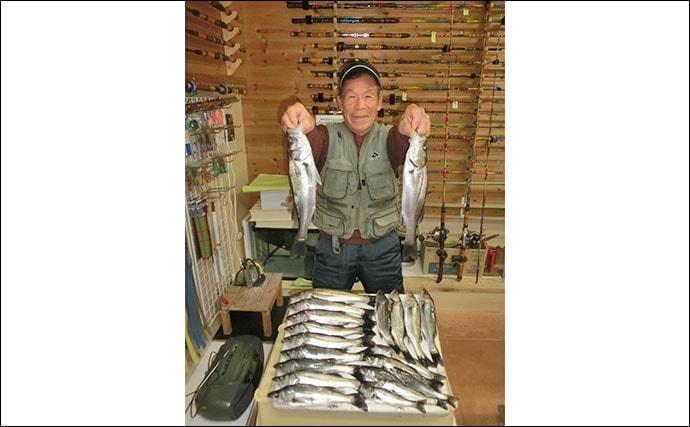 【愛知・三重】沖のエサ釣り最新釣果 泳がせで80cm超えなどヒラメ好調