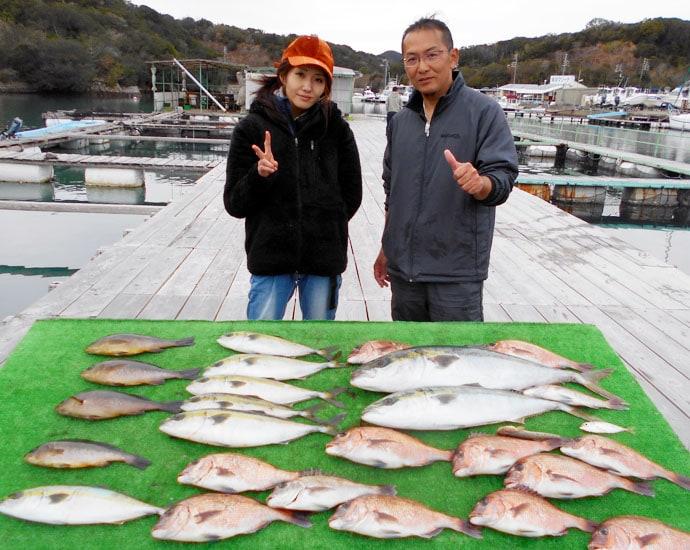 【三重県】海上釣り堀最新釣果 良型含み青物&マダイなど30尾超え