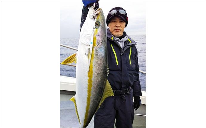 【福岡&佐賀】沖のルアーフィッシング最新釣果 良型「寒ブリ」好機到来