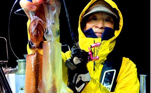 極寒の夜釣りでヤリイカを狙う イカメタルで奮闘【福井・泰丸Ⅲアクションズ】
