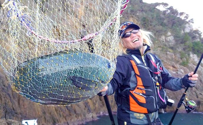 盛期の『寒グレ』釣りに必要なまきエサを考える 海苔の素材が絶対有利?