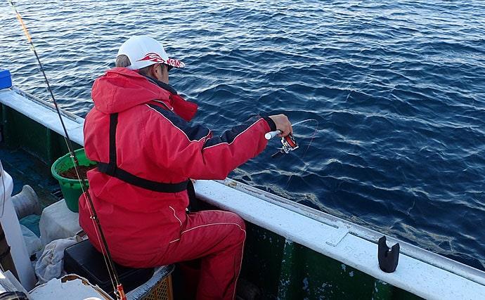 チヌのカカリ釣り 高水温でシーズンまではあと少し?【第二福丸】