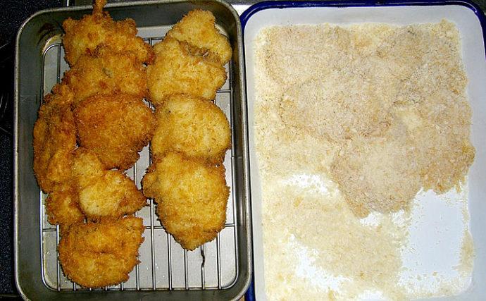 釣果レシピ:カンダイ(コブダイ)のフライ 下処理が味を大きく左右