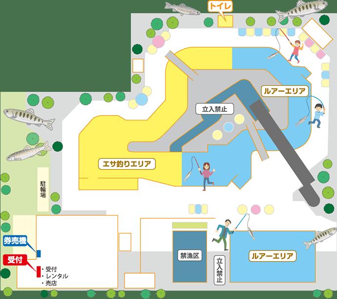 新オープンの都市型マス釣り場『まつばらフィッシングパーク』紹介