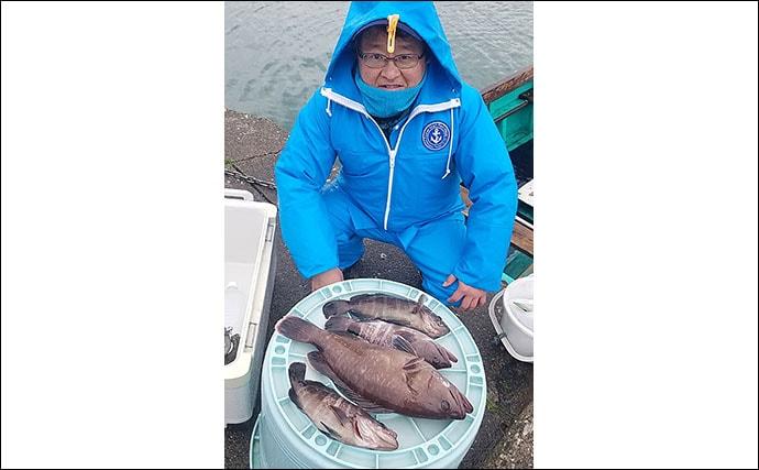マハタ狙いのイワシ泳がせ釣りで本命2.5kg 攻略法も紹介【千葉】