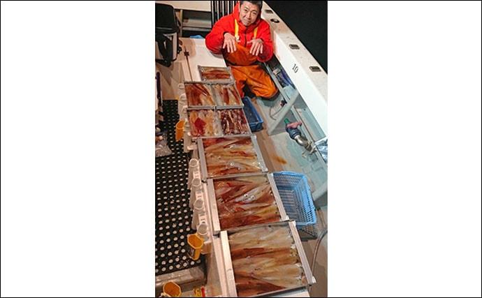 【三重&福井】沖釣り最新釣果 ジギングで11.5kgビンチョウマグロ
