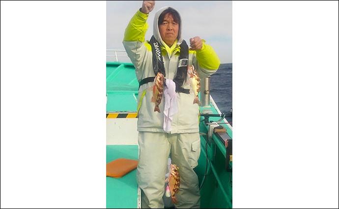 【2020日立沖】春告魚『メバル』釣り解説 群れ固まる今後が狙い目